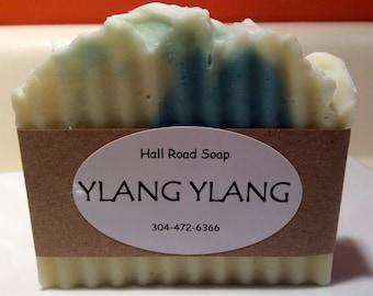 Ylang Ylang Cold Process Lye Soap