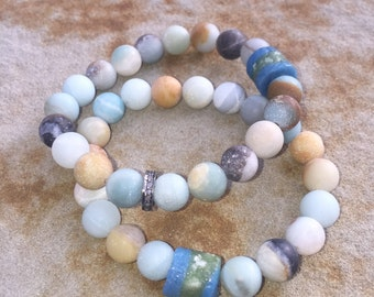Beautiful spring bracelet set