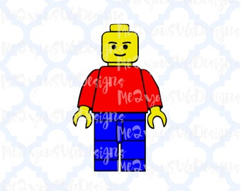 Lego Man SVG,EPS,PNG,Studio