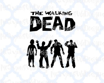 The Walking Dead SVG,EPS,PNG,Studio