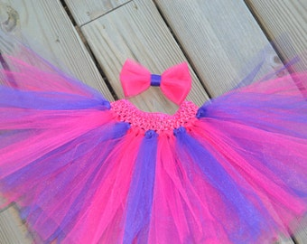 Hot Pink and Purple Baby/Toddler Tutu