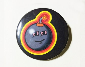 Stoned LifeBomb pin