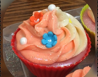 Cupcake cold process soap