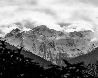 french Pyrenees under the clouds, Luchon, France. The French Pyrenees under the clouds, Luchon, France.