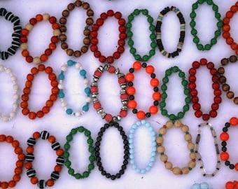 Colourful Beaded Bracelets