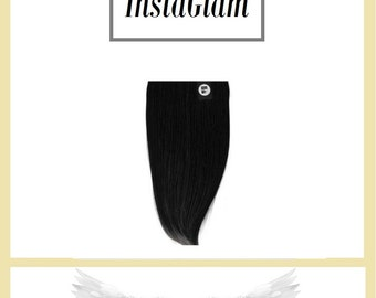"InstaGlam 1 Piece Clip-in Remy Human Hair Extensions -20""  120g (20g free)"
