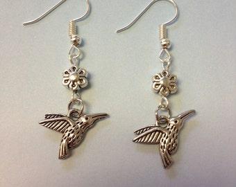 Humming Bird Earrings