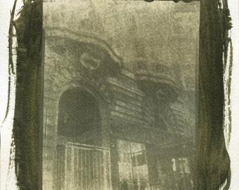 San Francisco Haight Ashbury District Gum Bichromate print #1