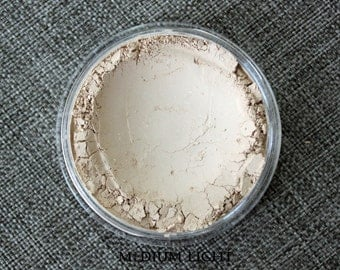 Modern Mud Loose Mineral Foundation and make-up brushes