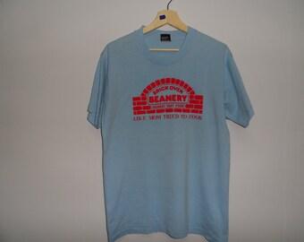 Vintage Brick Oven Beanary t shirt Restoran Medium Size