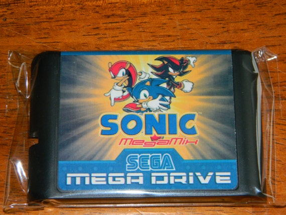 Sonic Mega Mix Fan Made Sega Genesis By Retrogamingworld