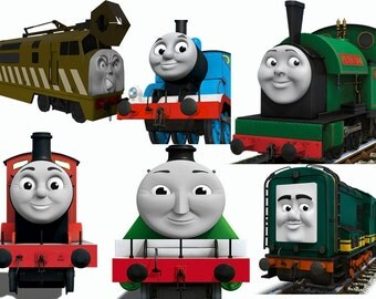 50 x thomas png files