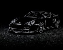 unique porsche 911 related items etsy. Black Bedroom Furniture Sets. Home Design Ideas