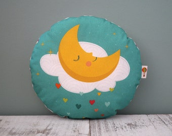 Small pillow Moon bio