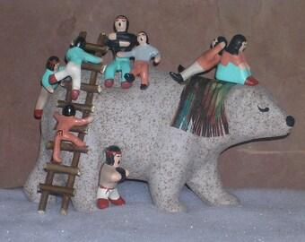 Large Bear Romper