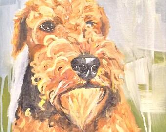 Dog Portrait -  11x14