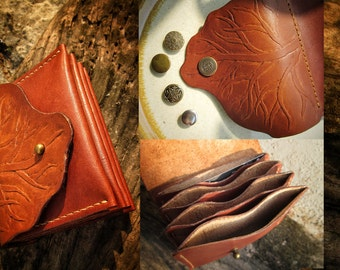 Card Wallet - tooling/carving