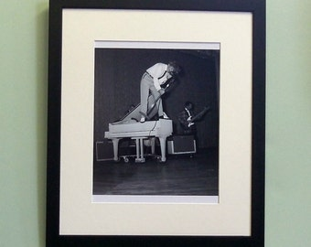 Jerry Lee Lewis framed 8' x 10' photo