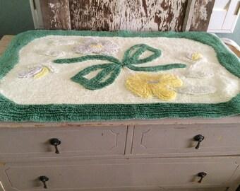 Vintage Bath Mats Amp Rugs Etsy