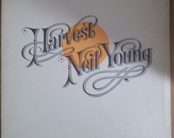 Neil Young Harvest LP 1972 (1st PRESS)