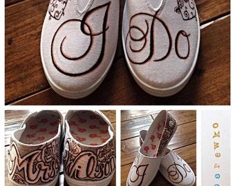 I Do Wedding Sneakers