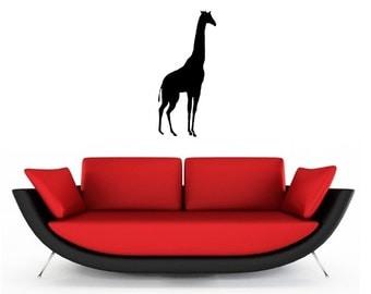 Giraffe vinyl Wall Art sticker decal graphics decor home