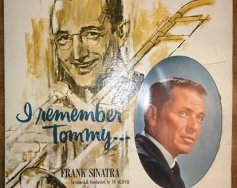 Frank Sinatra - I Remember Tommy R-1003 Vinyl Record LP 1961
