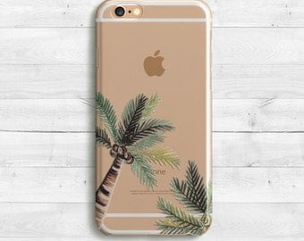 Palm tree, Plam Leaves Case, iPhone SE, iPhone 6s, 6s plus iPhone 7 case, 7 iPad Mini iPad Air, Samaung Galaxy S6, S7 Green Palm Leawes Case