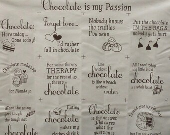 Chocolate Passion,Wall Hanging,Lap Throw,Pillow Case,Pot Holder, Placemat,Apron,Totes,bags