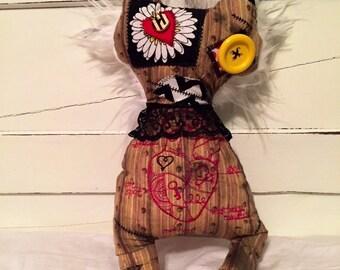 Handmade art doll ( rhage )