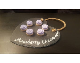 Pack of 4 Blueberry Cheesecake Natural Soy Wax Melts