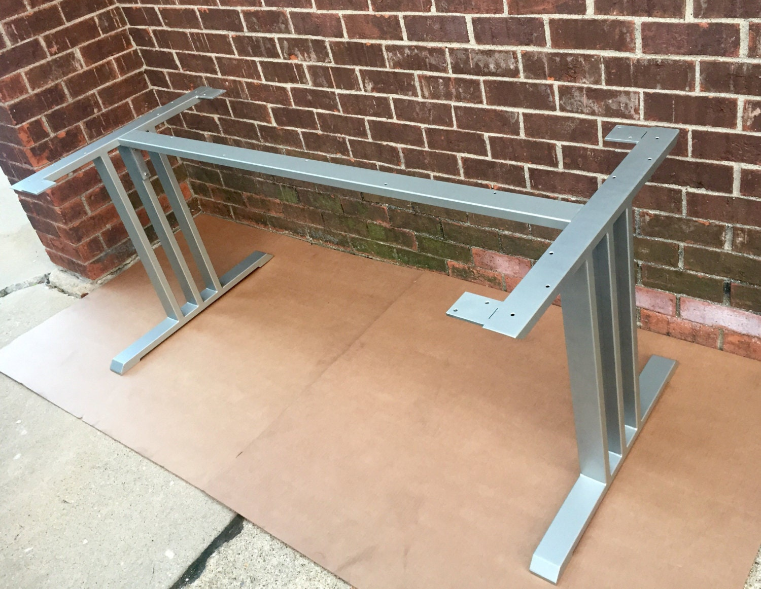 Design dining table base sturdy and heavy duty steel table for How to make a sturdy table base