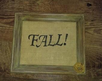 Rustic Fall Frame