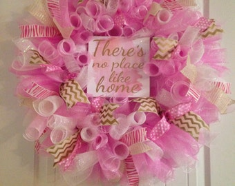 There is no place like home wreath