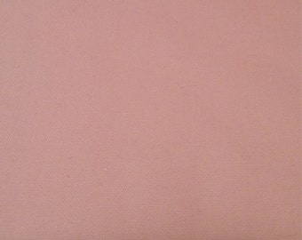 Pastel pink duck cloth