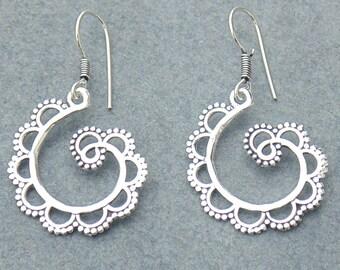 Tribal Earring / Festival Earring / Fusion Earring / Drop Earring / Love Gift Earring / Beach Jewelry Earring / Girls Wear Earring / E4