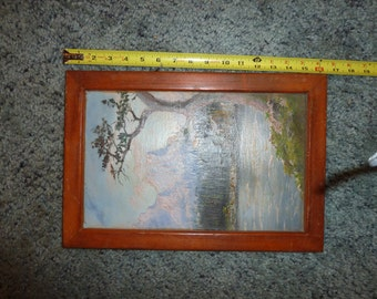 Vintage painting by Mrs. Bailey