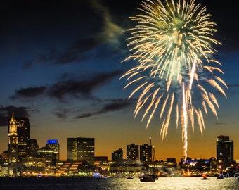 Long Wharf fireworks