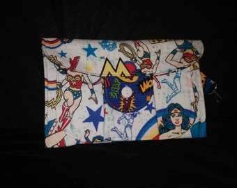 Inspired by Wonder Woman Clutch