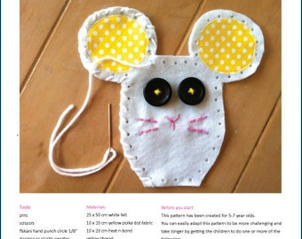 Lalaloopsy Pet Mouse Softie - Pattern PDF