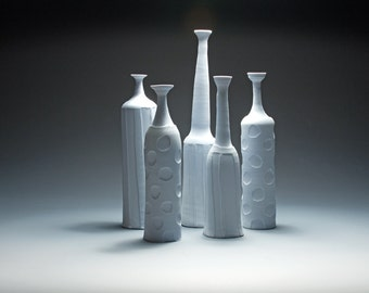Five Porcelain Bottles