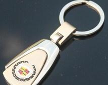 Cadillac Keychain Keyring - Provided with gift box. Car Keyring, Car Keychain, Luxury Cars, SUV, Sedan, Crossover