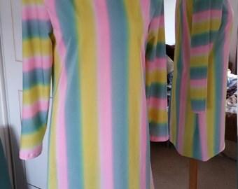 Lycra pastel shades summer beach dress