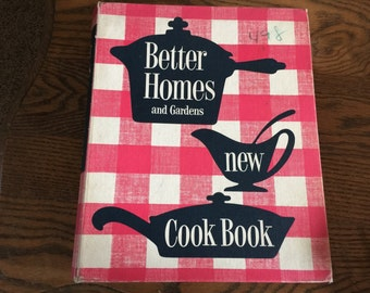 Vintage Better Homes and Gardend New Cook Book First Edition