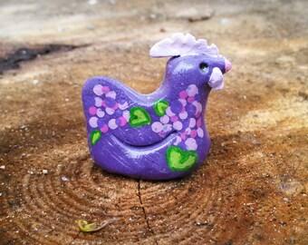 lavender lilac chickens