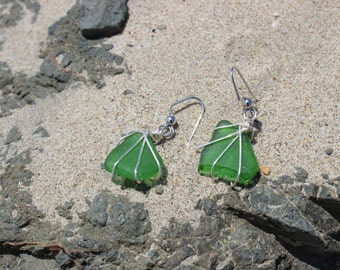 Sea Glass Earrings