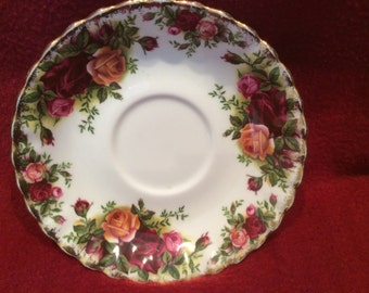 Royal Albert Old Country Roses Tea Saucer (Last chance to buy, this item will not be relisted)
