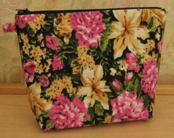 MakeUp Bag - Cosmetic Bag - Cosmetic Pouch