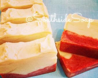 Sweet Sunburst Orange Shea Butter Soap