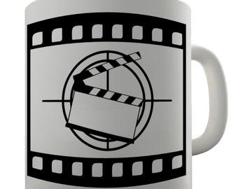 Movie Clapperboard Ceramic Funny Mug